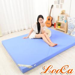 [時時樂限定]LooCa 抗菌防蹣防水8cm彈力記憶床墊-單人3尺