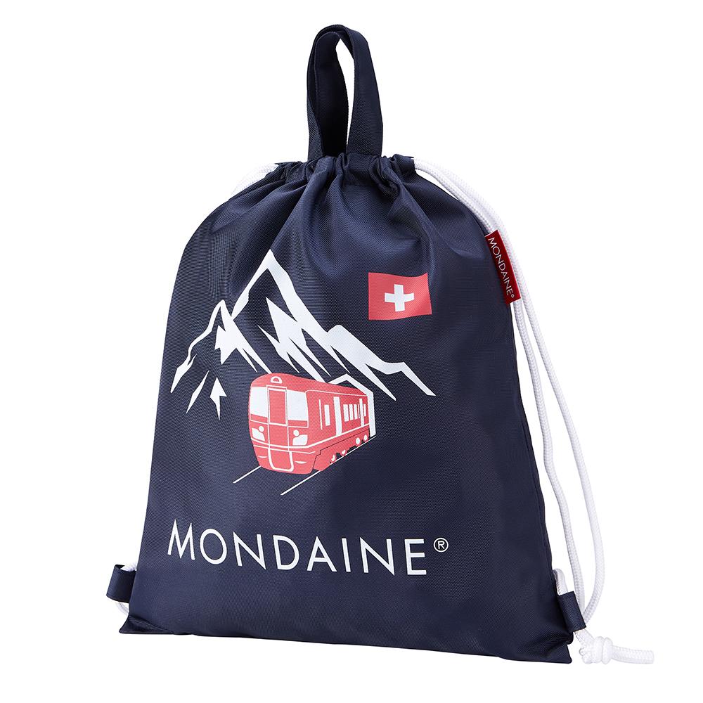 MONDAINE瑞士國鐵束口後背包 - Rigi瑞吉峰 / 藍 @ Y!購物