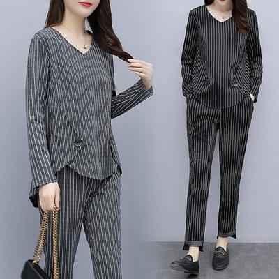 【韓國K.W.】(預購)輕美學美背倩影套裝褲(共2色)