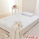 (福氣超值組)LooCa 旗艦款防蹣11cm釋壓記憶床墊-單人3尺