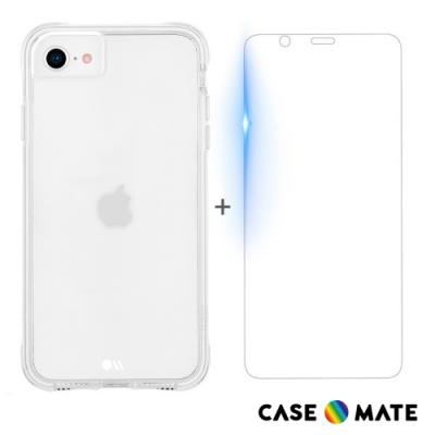美國 Case●Mate iPhone SE (第2代) Tough 強悍防摔手機保護殼 - 透明 (贈原廠強化玻璃貼)