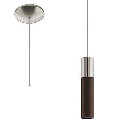 EGLO歐風燈飾 現代雙色單燈式LED吊燈