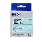 EPSON LK-4GBY Pattern系列海洋船底黑字標籤帶(寬度12mm)