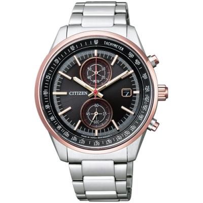 CITIZEN星辰 Brave Blossoms限量光動能計時腕錶(CA7034-61E)