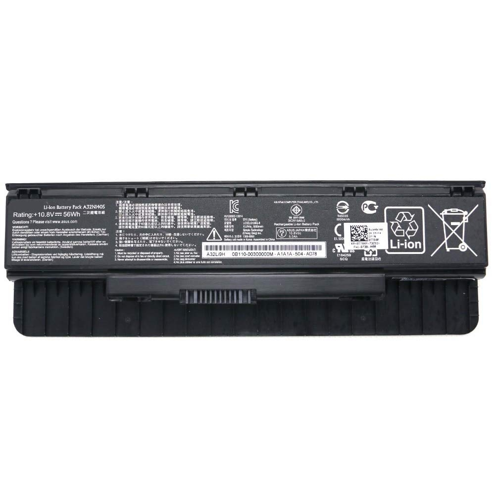 ASUS N551JB電池 ASUS A32N1405 N551JK N551JB 電池