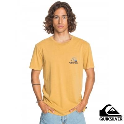 【QUIKSILVER】FLOW RIDE SS 針織T恤 黃色