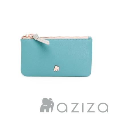 aziza 鑰匙零錢包 -松石綠