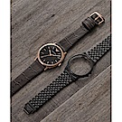 Emporio Armani 亞曼尼 城市頂尖時尚套錶組-黑/41mm