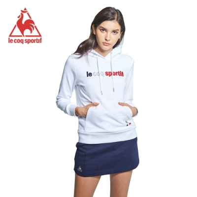 法國公雞牌連帽T恤 LWK2334290-女-白