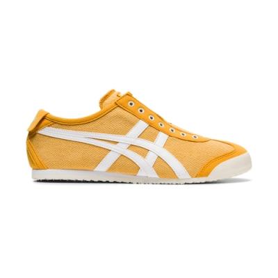 OT鬼塚虎-MEXICO 66 SLIP-ON 休閒鞋 男女(橘黃色底白邊)