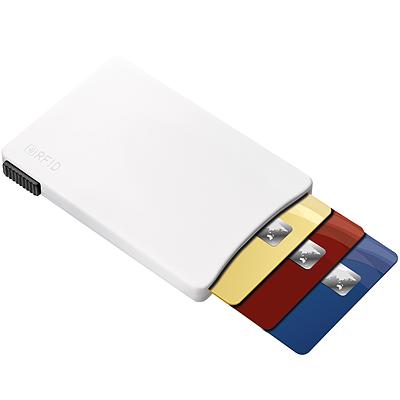 《REFLECTS》推式RFID證件夾(白)