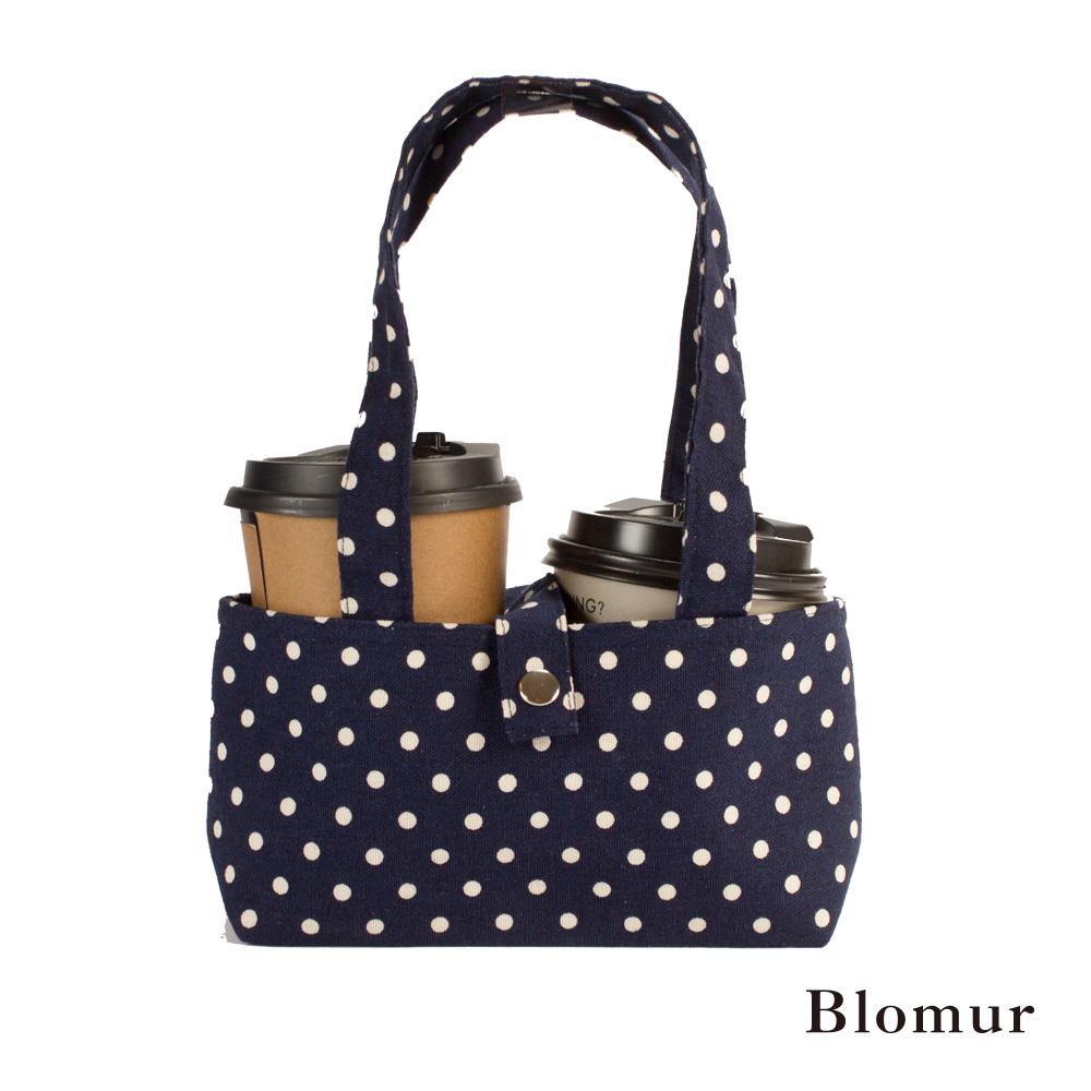Blomur 雙杯套/早餐袋-黑色點點