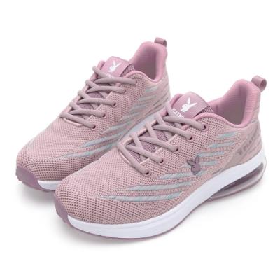 PLAYBOY Candy Bubble Plus 輕量氣墊休閒鞋-粉紫-Y72359A