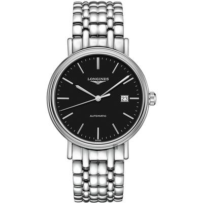 LONGINES 浪琴 Presence 經典優雅機械錶-40mm(L49224526)