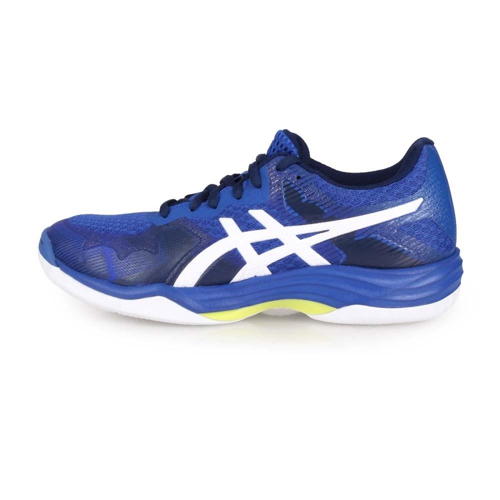 ASICS 女 排羽球鞋 GEL-TACTIC 藍白
