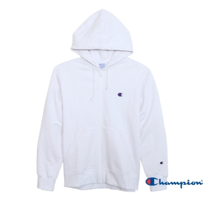 Champion Basic 毛巾布連帽外套 白色