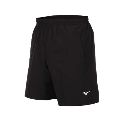 MIZUNO 男 平織短褲 黑白