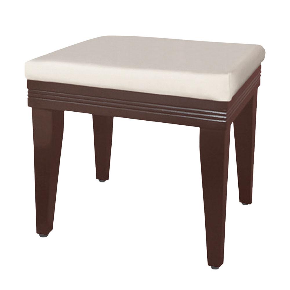 Boden-簡約化妝椅(兩色可選)-41x31x43cm