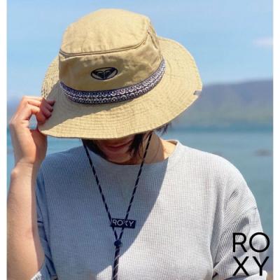 【ROXY】LATITUDE 戶外運動帽 米黃