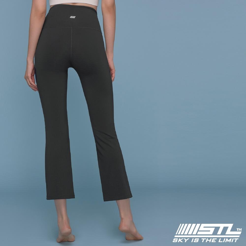 STL YOGA METRO NY 9 韓國瑜珈 地鐵合身小喇叭 運動機能訓練長褲 氣質灰