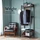 H&D東稻家居 Wright 萊特工業風開放式2.1尺衣櫃 product thumbnail 1