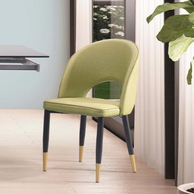 H&D 威利斯綠皮餐椅