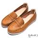 DIANA 鏤空層次車線樂活舒適休閒鞋-自在生活-棕 product thumbnail 1