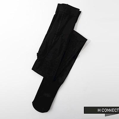 H:CONNECT 韓國品牌 純色彈性褲襪-黑(快)