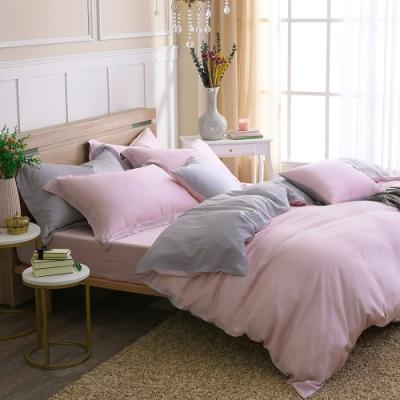 鴻宇 雙人床包兩用被套組 天絲300織 潘貝拉 台灣製