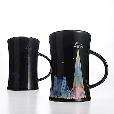 JB DESIGN-新北市璀璨夜景變色杯 -亮黑水瓶杯