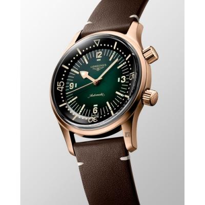 LONGINES浪琴 青銅 傳奇潛水復刻腕錶-42mm L37741502