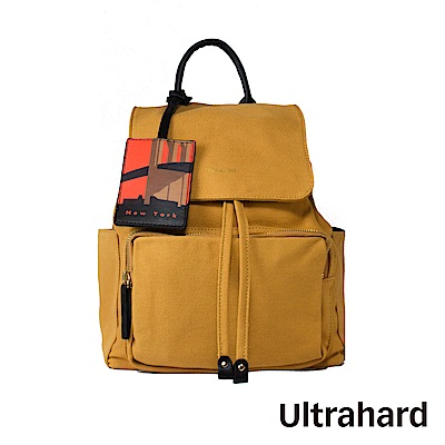 Ultrahard City Travel 後背包-NewYork(橙)