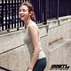 STL yoga bra T SS Balance Slim 韓國瑜珈 運動機能訓練背心上衣(含胸墊)平衡粉綠 product thumbnail 1
