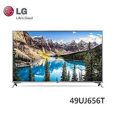 福利品-LG樂金 49型 4K UHD智慧聯網電視 49UJ656T