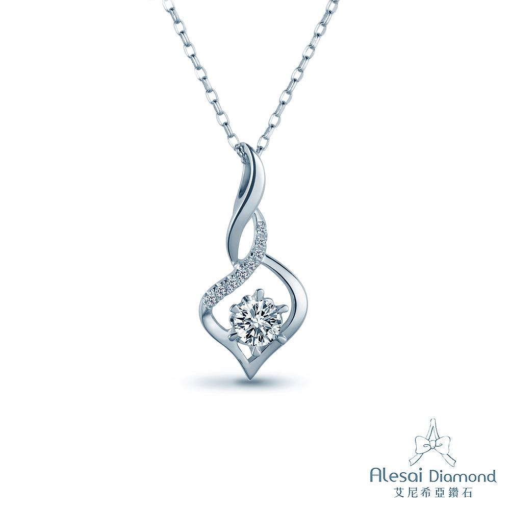 Alesai 艾尼希亞鑽石 30分 14K 鑽石項鍊 (項鍊墜子)