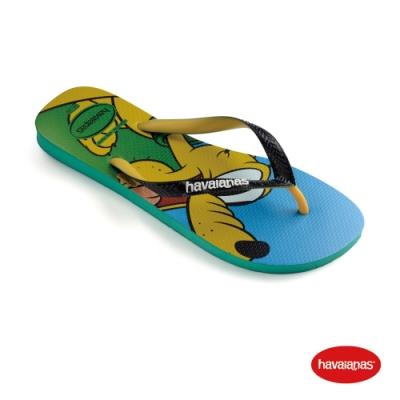 Havaianas 哈瓦仕 拖鞋 夾腳拖 人字拖 巴西 男鞋 女鞋 叢林綠 4123500-2078U Disney Stylish 迪士尼