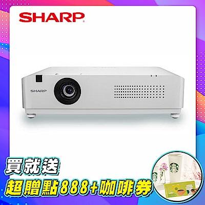 SHARP PG-CE40W WXGA 4000流明 輕量級雷射投影機