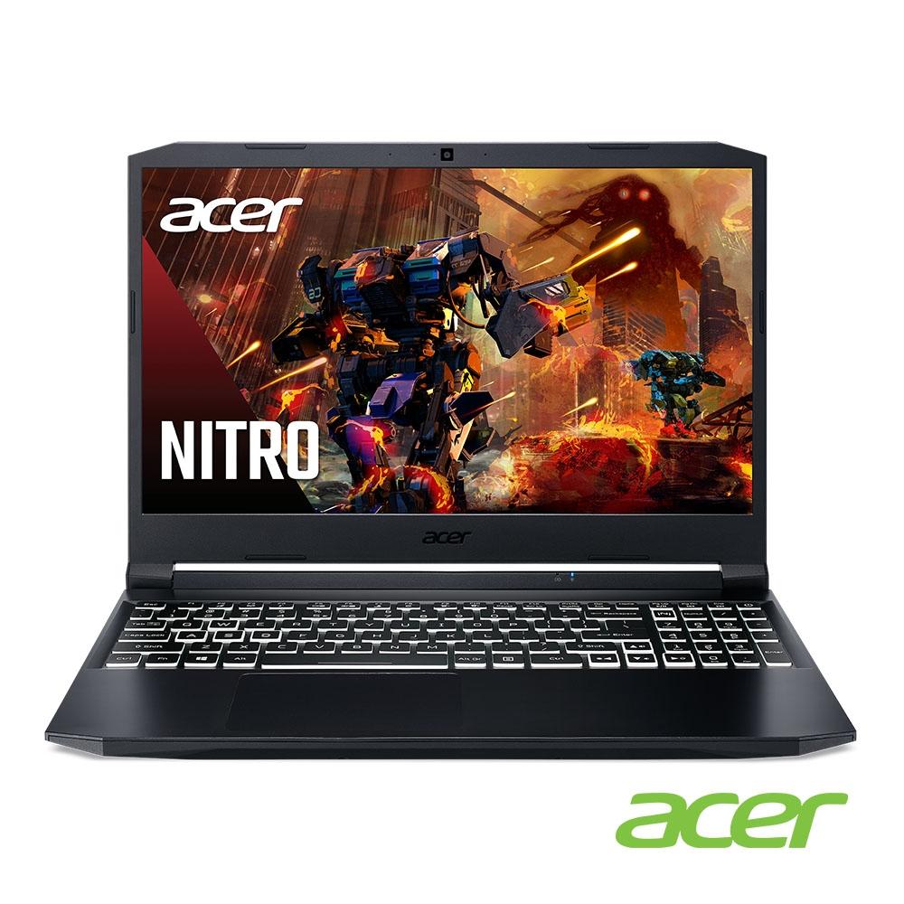 (福利品)Acer AN515-56-58V1 15吋筆電(i5-11300H/GTX1650/8G/512G SSD/黑)