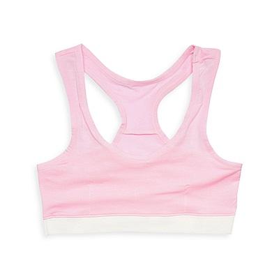 anny pepe 成長型內衣 95%天絲挖背型-粉紅