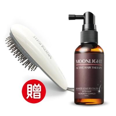 [僅此一檔!加贈氣墊按摩梳]Moonlight 進化版 豐盈生機毛囊養髮精華液 70mL
