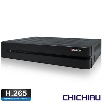 奇巧 H.265 4路4聲800萬 2160P iCATCH數位監控錄影主機