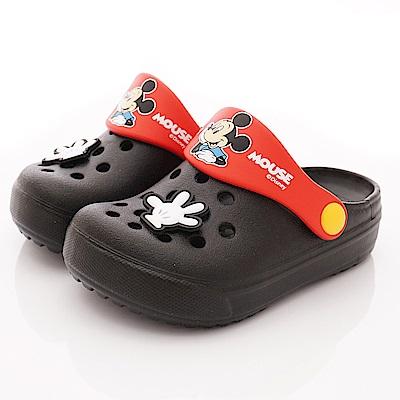 迪士尼童鞋 米奇護趾涼鞋款 ON19347黑(中小童段)