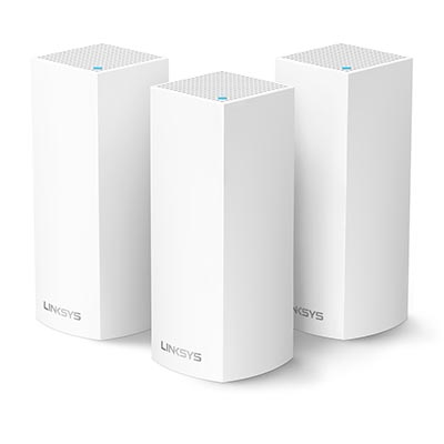 Linksys Velop 雙頻Mesh WiFi網狀路由器(三入裝)