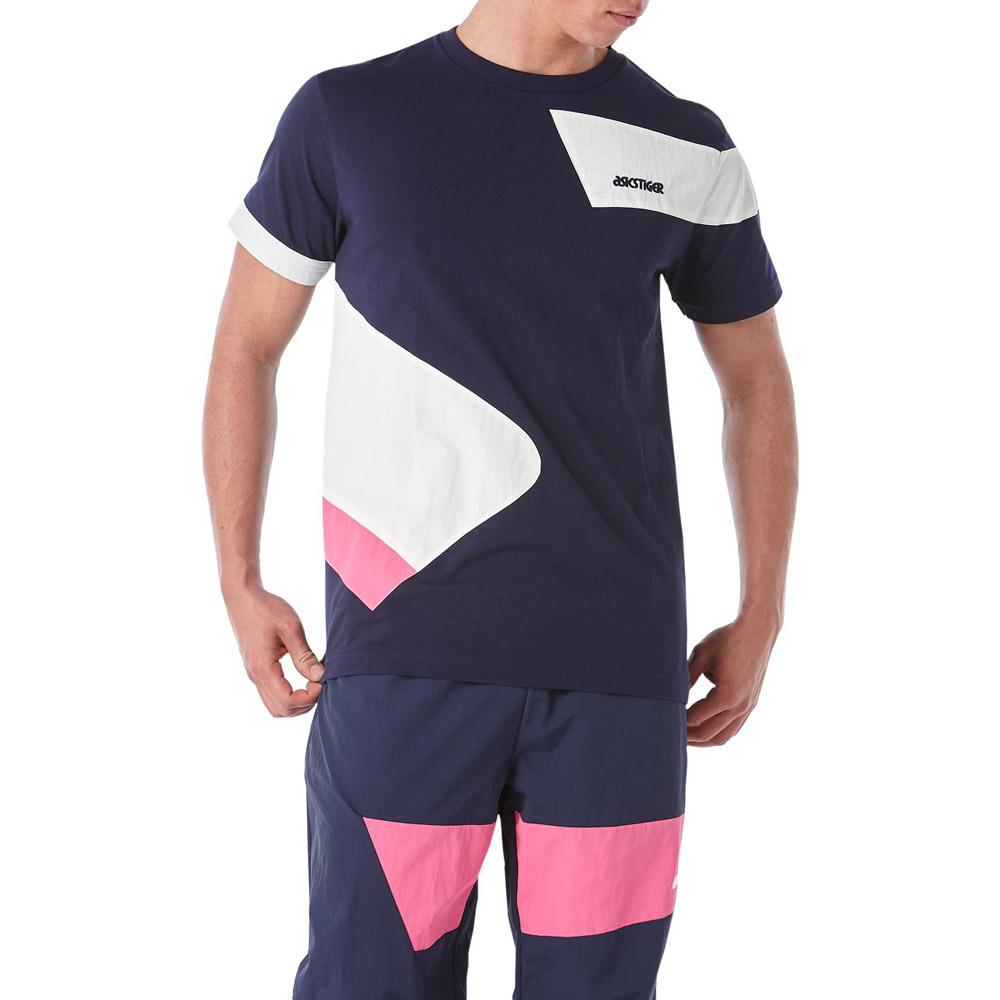 ASICS 拼接短袖上衣 2191A039-400 @ Y!購物
