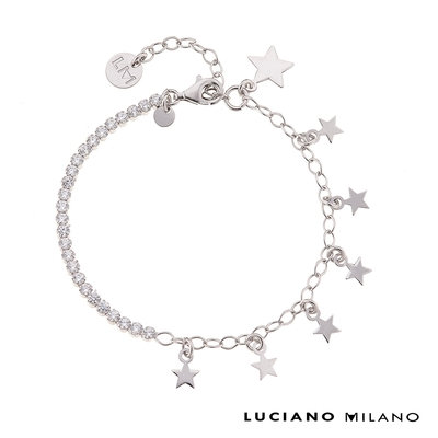 LUCIANO MILANO 繁星點點純銀手鍊