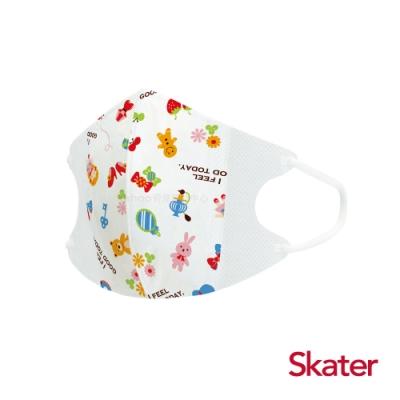Skater立體兒童口罩-糖果屋(每包10片)