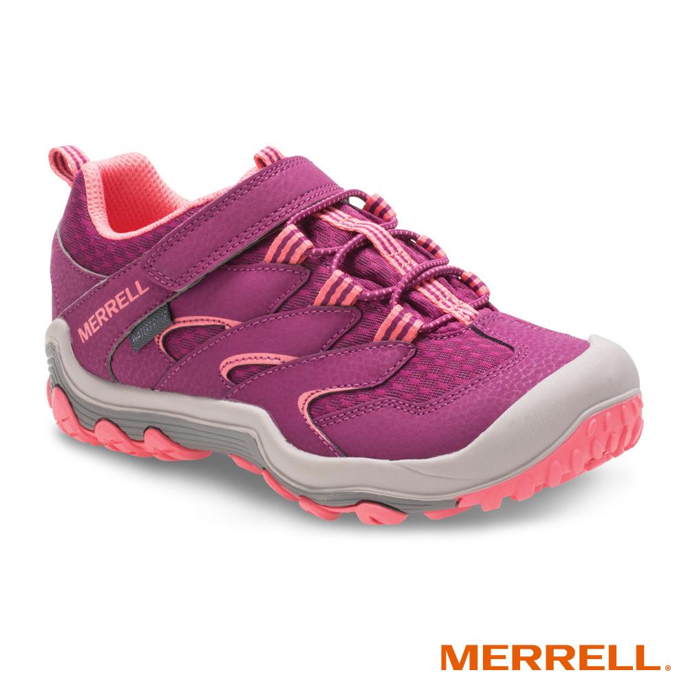 MERRELL CHAMELEON 7 WP 登山防水童鞋-桃(160341)