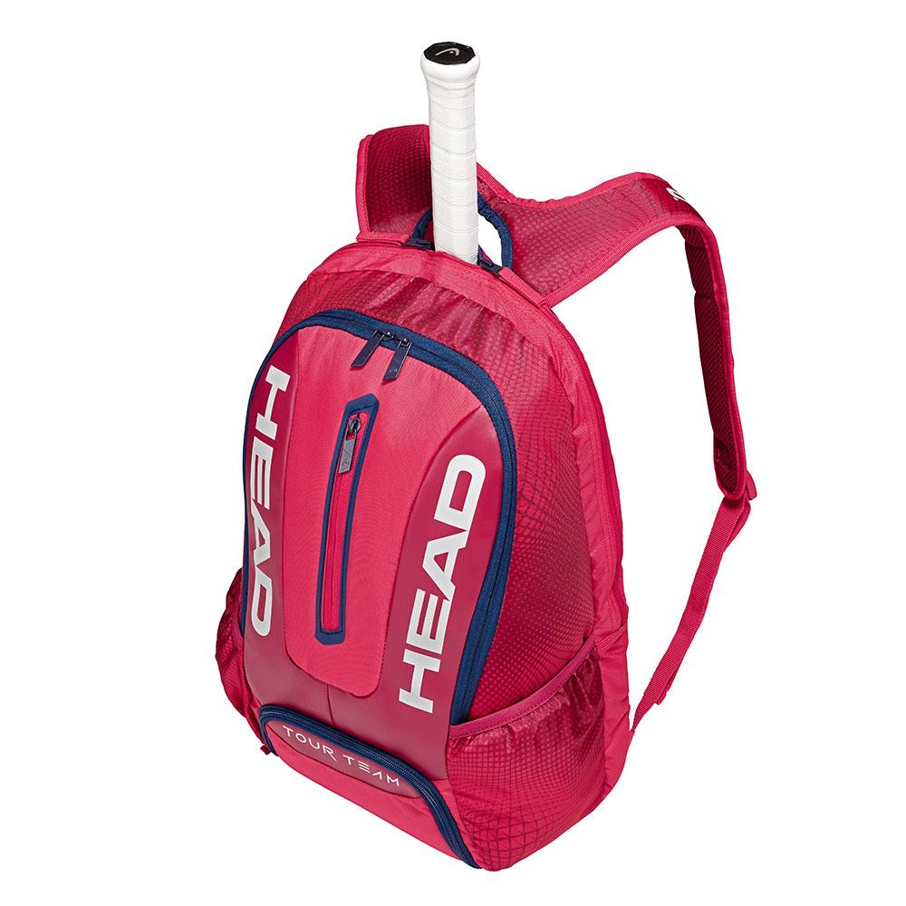 HEAD奧地利 Tour Team 球具球拍專用後背包-莓紅 283149