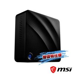 msi微星 Cubi N 8GL-043TW小主機(N4000/4G/32G-雙碟特仕版)