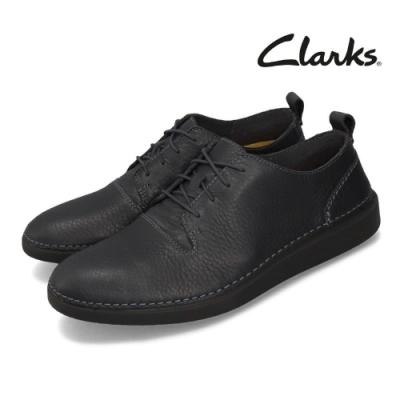 Clarks 休閒鞋 Hale Lace 皮革 男鞋